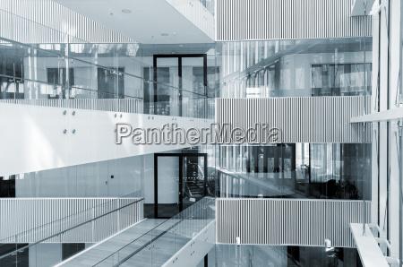 zusammenfassung innenraum des modernen business center