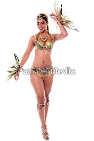 frau tanzen samba