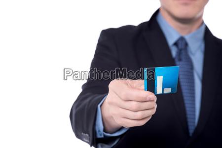 bild der hand des geschaeftsmanns der