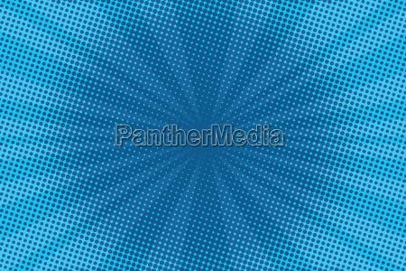 retro comic blauen hintergrund raster gradient