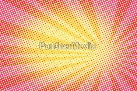 retro comic gelber hintergrund raster gradient