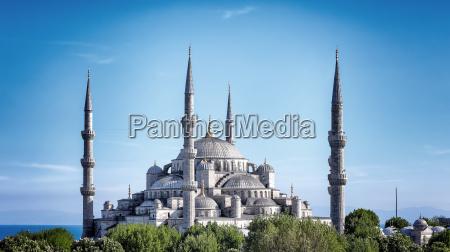 blaue moschee von istanbul