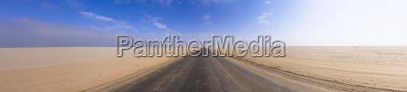 namibia erongo region lonely coastal road