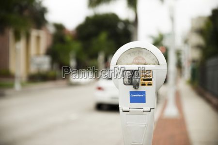 usa florida fort myers parking meter