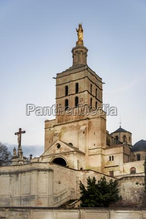 frankreich avignon kathedrale avignon