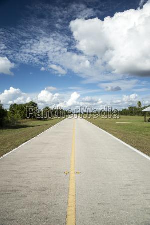 usa florida everglades road