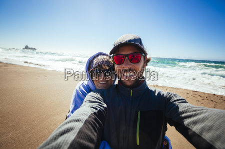 selfie of a couple on the