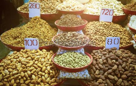indien altes delhi markt gewuerze und