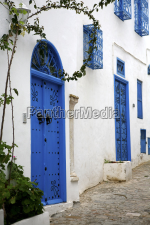 tunisia sidi bou said typical blue