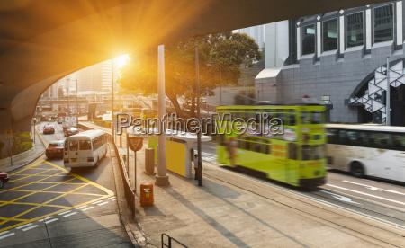 china central hong kong verkehr am