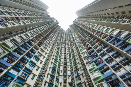 china hong kong kowloon apartement buildings