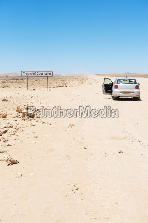 namibia namib desert swakopmund empty car