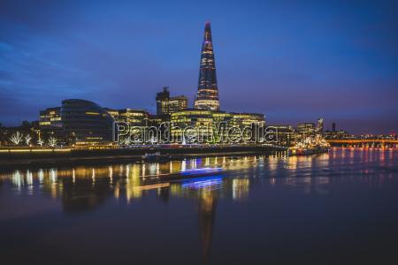 united kingdom england london skyline with