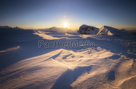 fahrt reisen winter sonnenuntergang dolomiten wolke