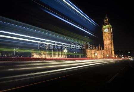 uk london big ben at night
