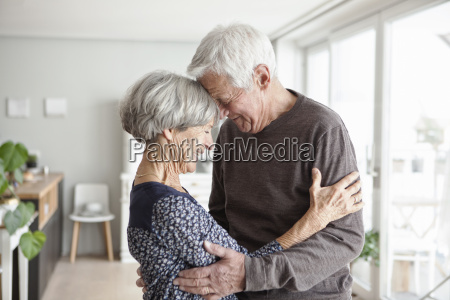 portrait of happy senior couple at