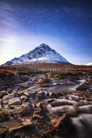 scotland highlands glencoe glen etive view