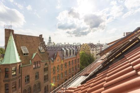 germany berlin friedrichshain roof top and