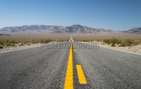 usa nevada direction beatty road 95