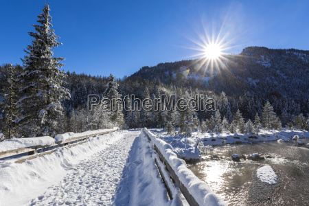 germany upper bavaria between vorderriss and