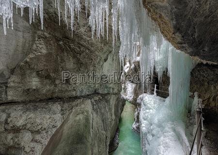 germany garmisch partenkirchen view of icicles