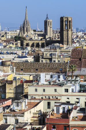 spain barcelona cityscape