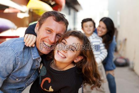 spain barcelona portrait of happy little