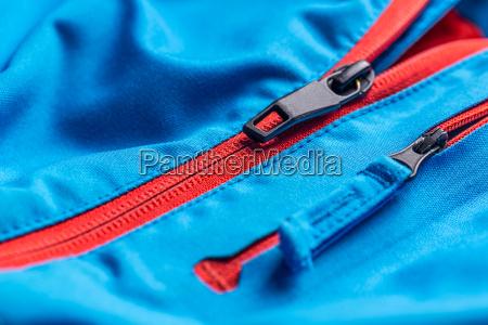 reissverschluss umkleiden beschichten mantel