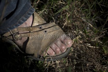 huarache sandalen von tomas villanueva buendia