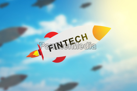 group of fintech or financial technology