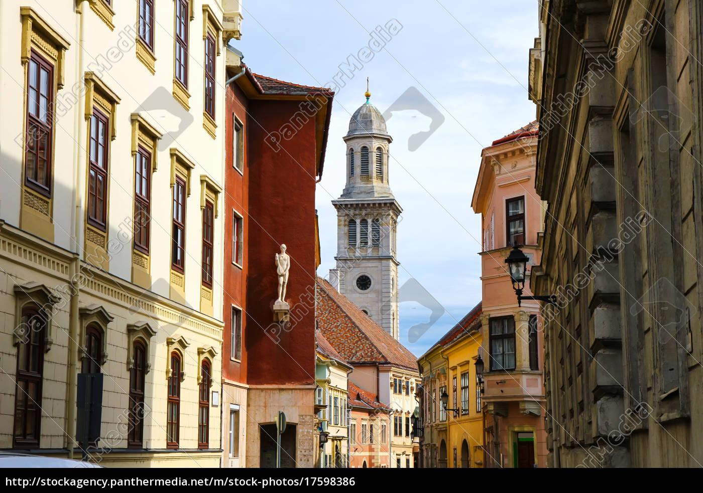 historic, architecture, in, sopron - 17598386