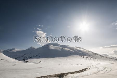 winterlandschaft in myvatn island