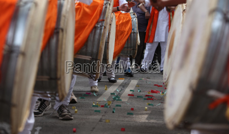 traditional ganesh festival percussion