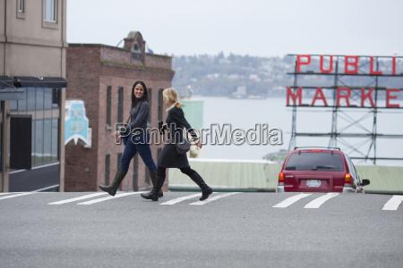 brooke lafave and katie cox walking