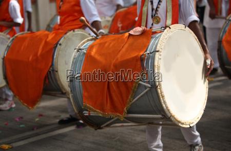 ganesh festival drums