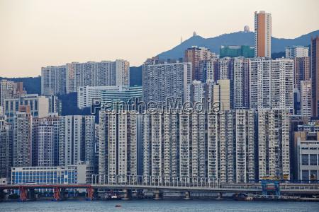 hong kong public house sunset