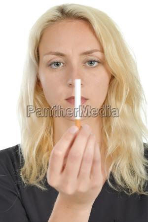 haben dem rauchen aufzuhoeren