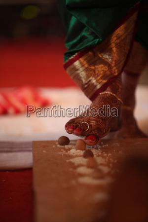 indian wedding step
