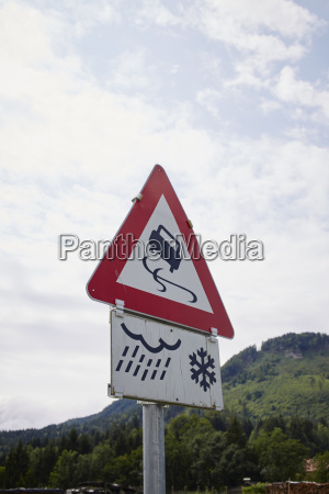 slippery when wet and icy conditions