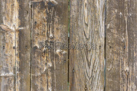 close up of bare weathered barn