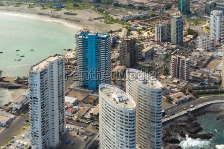 aerial view of buildings at la
