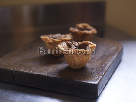 close up of butter tarts on