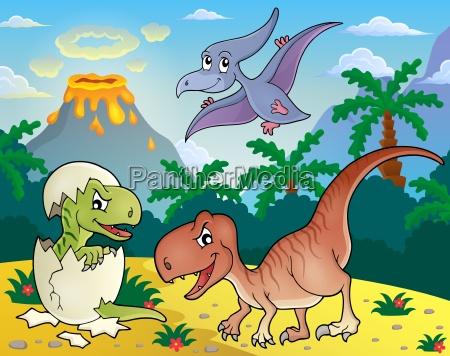 dinosaur topic image 1
