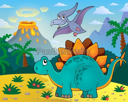 dinosaurier thema bild 3