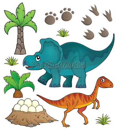dinosaur topic set 6