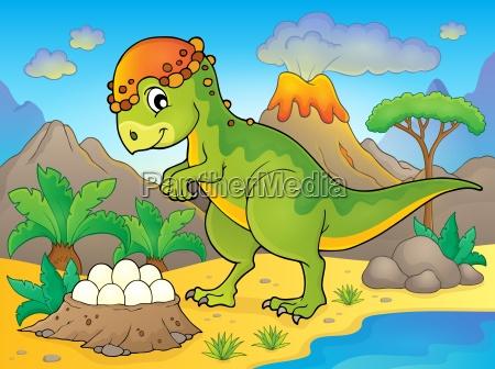 image with dinosaur thematics 4