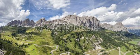 wolke alpen europa ueberblick luftbild voralpen