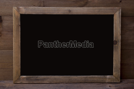 chalkboard with copy space wooden background