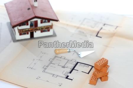 simbolo de planificacion de la construccion