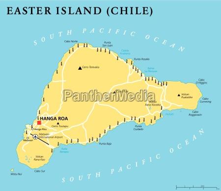 politische landkarte der osterinsel